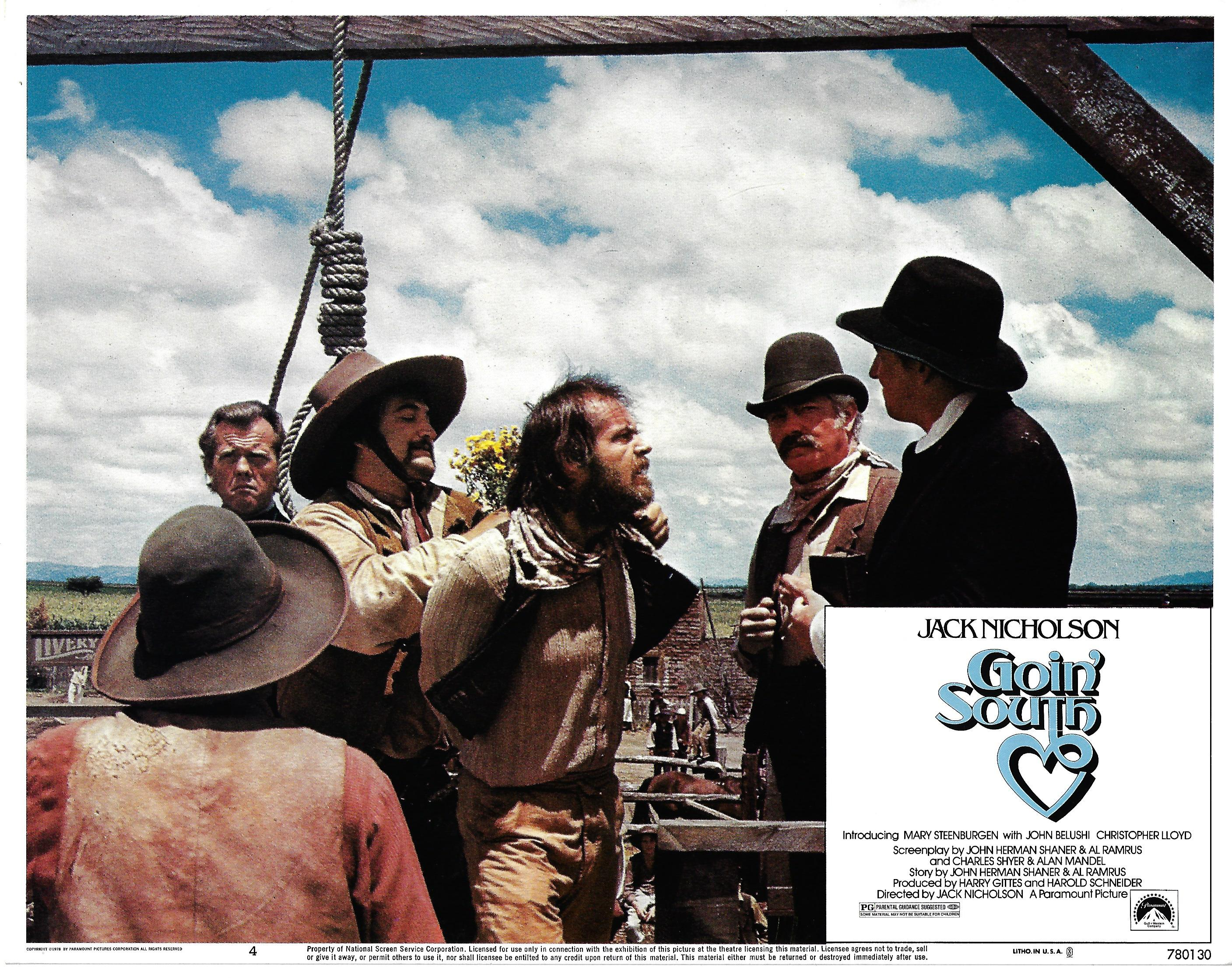 Going South , 1978, Jack Nicholson, Original Lobby Card #, 11x14