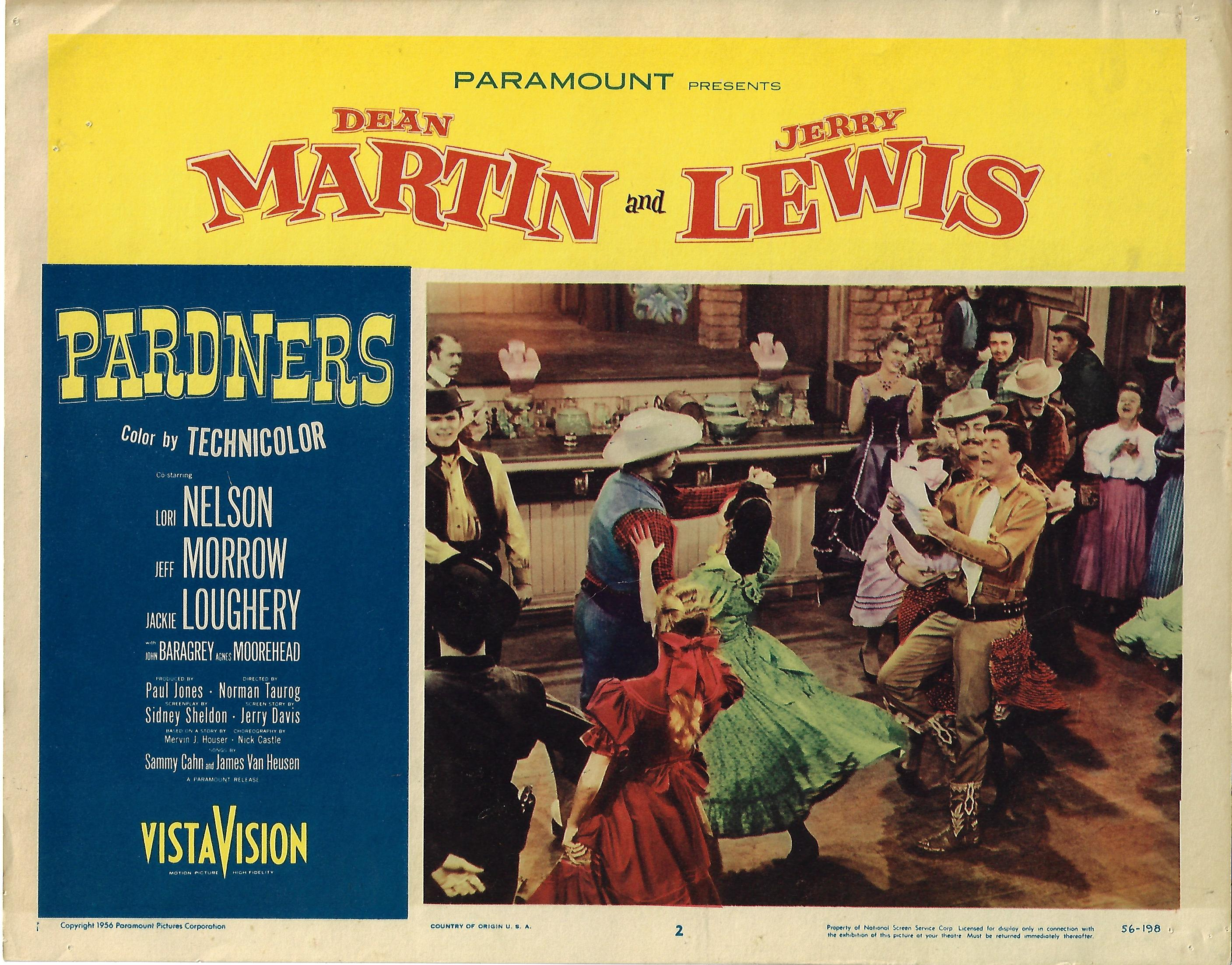 Pardners, Lobby Card , 1956, 11x14