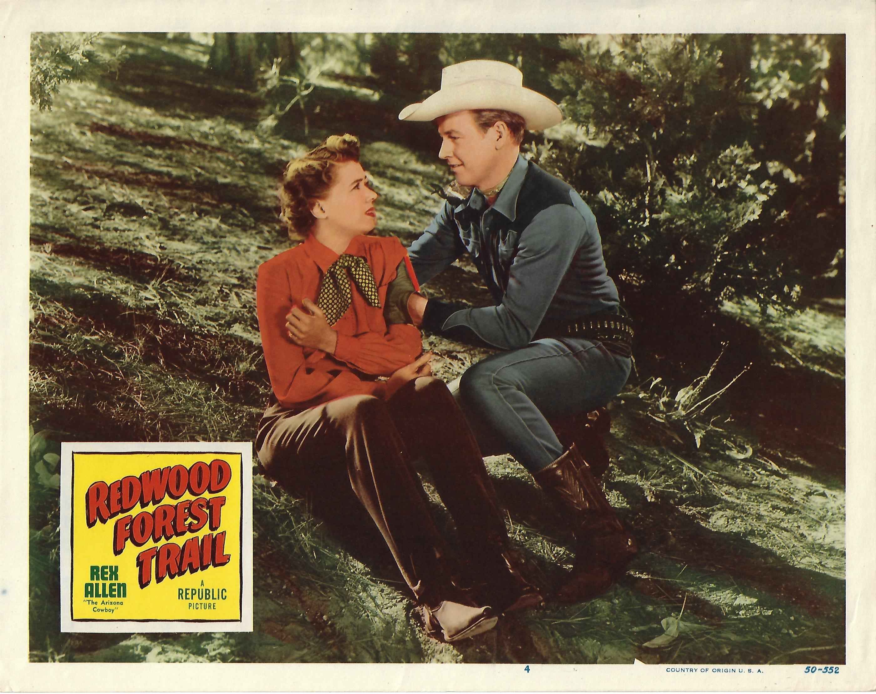 Redwood Forest Trail, Lobby Card , 1950, 11x14