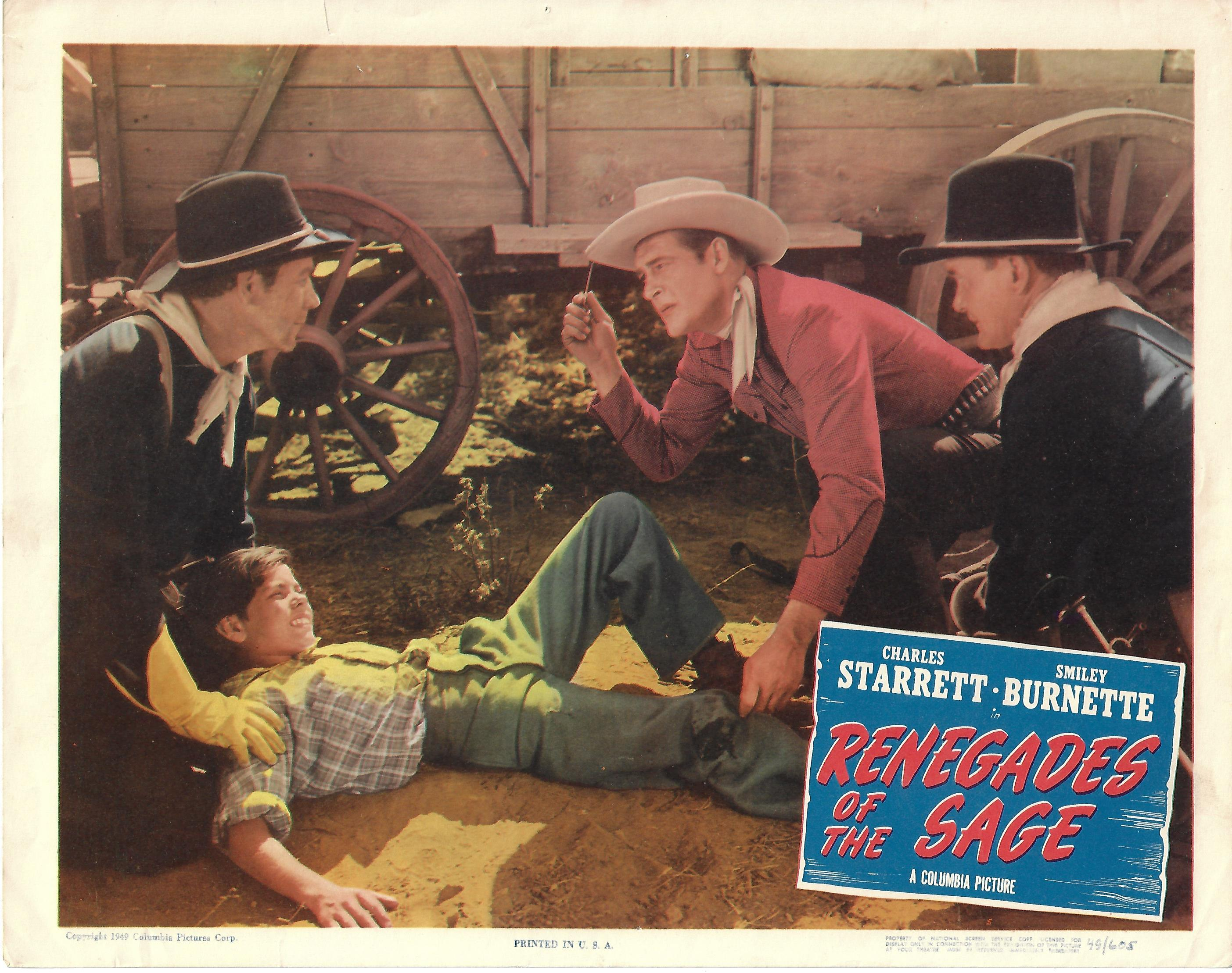 Renegades of the Sage, Lobby Card, 1949,  11x14