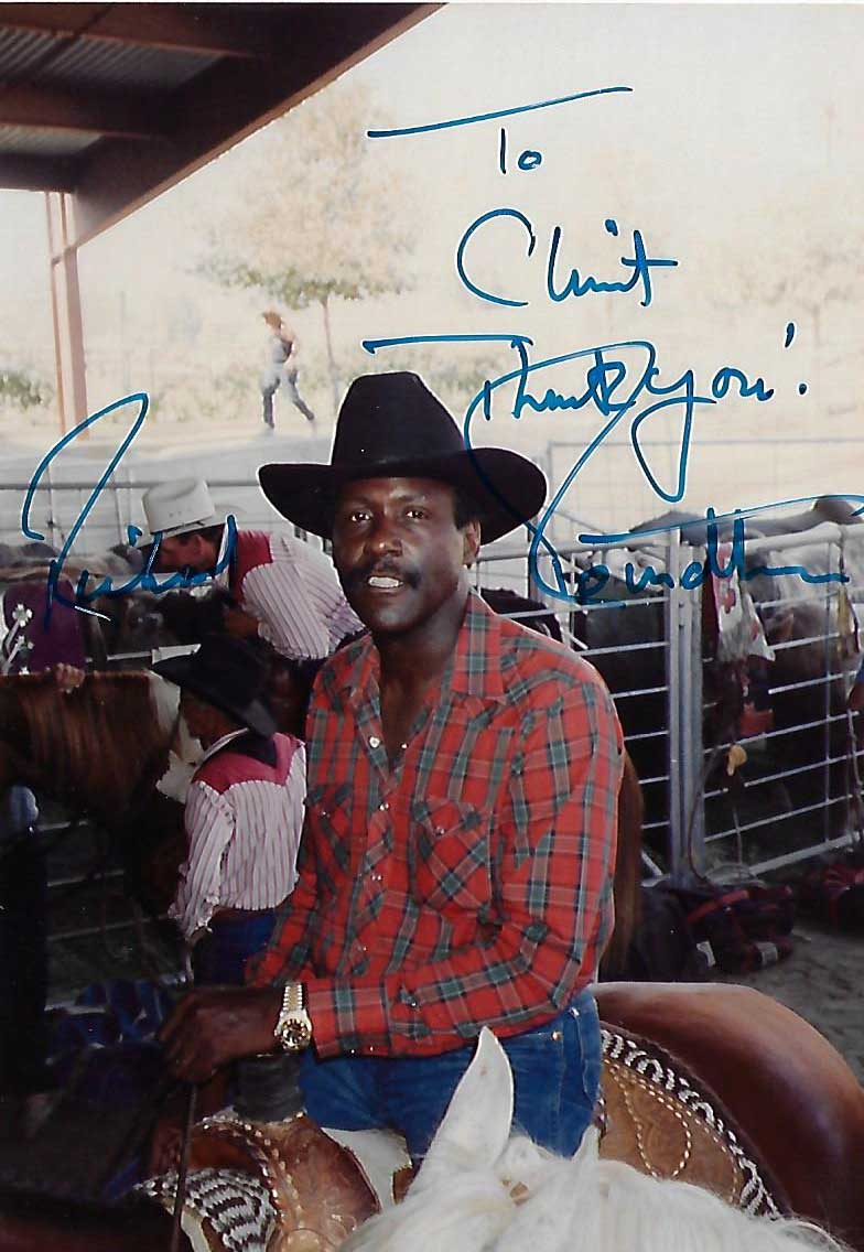Richard Roundtree, Shaft! , Candid Autographed Photo (4x6)