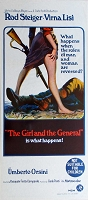 Girl and the General, 1967, Rod Stieger, Original Australian Daybill (13x30)