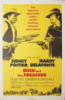 Buck and the Preacher, 1972, Sidney Portier, Original 1 Sheet (27x41)