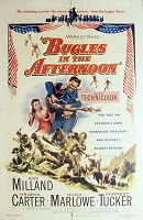Bugles in the Afternoon, 1952, Ray Miland, 1 Sheet (27x41)