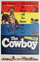 Cowboys The, 1954, Documentary, 1 Sheet (27x41)