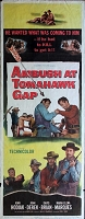Ambush at Tomahawk Gap, 1953, John Hodiak, Original Insert, (14x36)