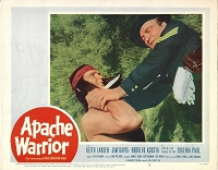 Apache Warrior, Lobby Card , 1957, 11x14