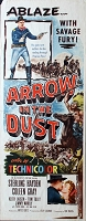 Arrow in the Dust, 1954, Sterling Hayden, Original Insert, (14x36)