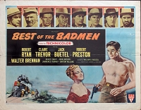 Best of the Badmen, 1951, Robert Ryan, Original Half Sheet, Style A (22x28)