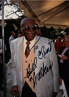 Bill Walker 1896-1992,  Candid Autographed Photo (4x6)