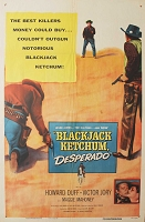 Blackjack Ketchum Desperado, 1956, Howard Duff, Original 1 Sheet (27x41)