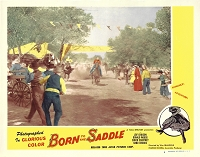 Born to the Saddle , Lobby Card , 1953, 11x14