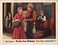 Boy from Oklahoma, Will Rogers Jr., Original Lobby Card 11x14