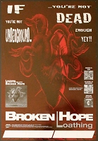 Broken Hope, Appearance Poster, Circa 1997, 13 x 18.75, Guaranteed Original!