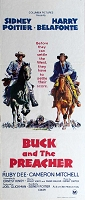 Buck and the Preacher, 1959, Sidney Poitier, Original Australian Daybill (13x30)