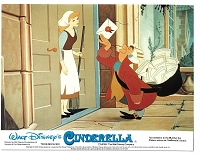 Cinderella, Re-Release British Lobby Card Set, (8x10)