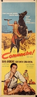 Commanche, 1956, Dana Andrews, Original Insert, (14x36)