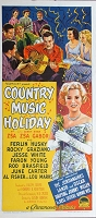Country Music Holiday, 1959, Ferlin Husky, Original Australian Daybill (13x30)