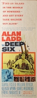 Deep Six, 1958, Alan Ladd, Original Insert (14x36)