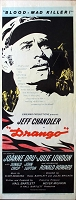 Drango, 1957, Jeff Chandler,  Original Insert, (14x36)