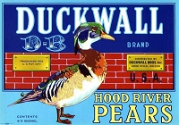 Duckwall Brand, Original Crate Label, Circa 1930's,  10x7.25