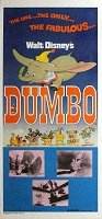 Dumbo, R76, Disney Animation Re-Release Australian Daybill (13x28)
