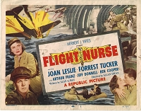 Flight Nurse, Original Lobby Title Card , 1953, 11x14