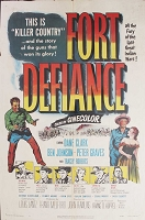 Fort Defiance, 1951, Dane Clark, Original 1 Sheet (27x41)
