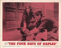 Four Days of Naples , 1963, Original Lobby Card  Set , 11x14