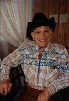 Frank Mitchell, 1905-1991, Actor/Director, Candid Autographed Photo (4x6)