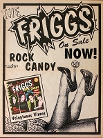 The Friggs, Appearance Poster, Circa 1997, 15x20 , Guaranteed Original!