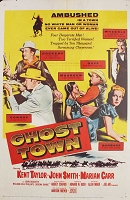 Ghost Town, 1956, Kent Taylor, Original 1 Sheet (27x41)