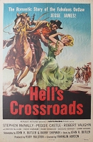 Hell's Crossroads, 1957, Stephan McNally, Original 1 Sheet (27x41)