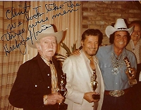 Herb Jeffries, 1913-2014, The Bronze Buckaroo, Autographed Photo (3.5x4.5)