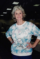 Irish McCalla, 1928-2002, Actress, She-Demons, Candid Autographed Photo (4x6)