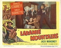 Laramie Mountains, Lobby Card , 1952, 11x14