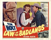 Law of the Badlands, Lobby Card , 1950, 11x14