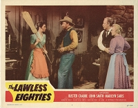 Lawless Eighties, Original Lobby Card , 1957, 11x14