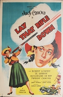 Lay That Rifle Down, 1955, Judy Canova, Original 1 Sheet (27x41)