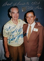 Billy Lee, 1929-1989 and Eddie Quillan, Candid Autographed Photo (4x6)