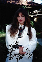 Lisa Loring, Addams Family, Candid Autographed Photo (4x6)