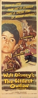 Littlest Outlaw, 1955, Disney Live Action, Original Insert, (14x36)