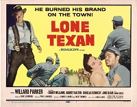 Lone Texan, Lobby Set Original , 1957, 11x14