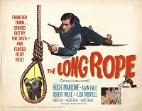Long Rope, Title Card, 1961, 11x14