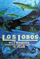 Los Lobos, Fillmore Appearance Poster, Circa 2000, 13x19 , Guaranteed Original!