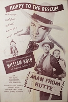 Man from Butte, 1952, William Boyd, Original 1 Sheet (27x41)