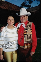 Montie and Marilee Montana, Autographed Candid Photo (4x6)