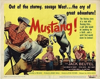 Mustang, Original Title Card , 1959, 11x14