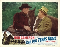 Old Texas Trail, Re-Release Lobby Card , R49, 11x14