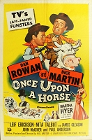 Once upon a Horse, 1958, Rowan & Martin, Original 1 Sheet (27x41)